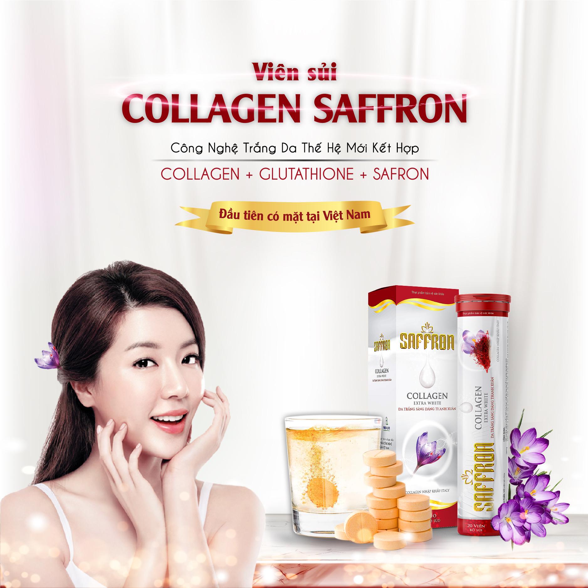 saffron collagen extra white
