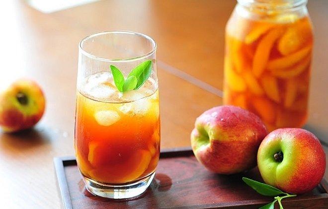 1 ly trà đào cam sả bao nhiêu calo
