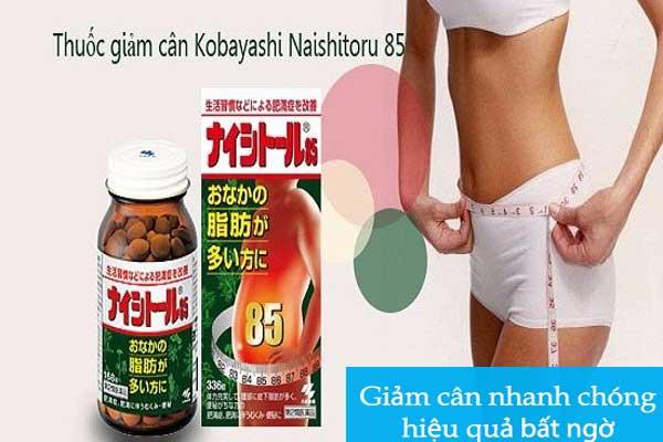 review thuốc giảm cân naishitoru z 5000