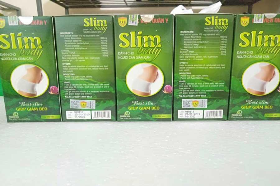 thuốc giảm cân queen slim body