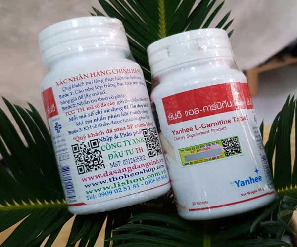 thuốc giảm cân yanhee review