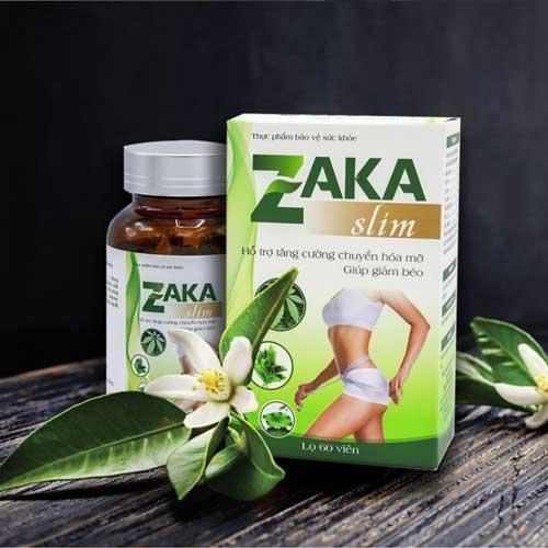 thuốc giảm cân zaka